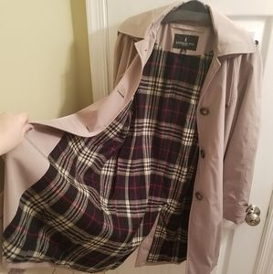 Button-Up Trench Coat by London Fog